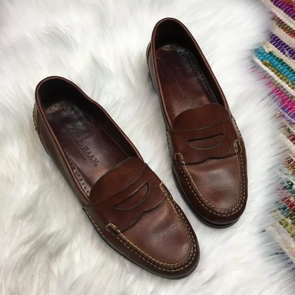 490877a7e9 Cole Haan Shoes | Mens Pinch Handsewn Leather Loafers 10 | Poshmark